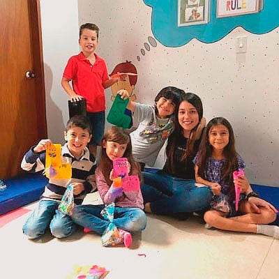 Terapia grupal para niños en Medellín