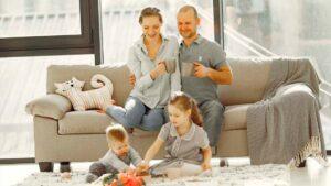 Qué es la familia para los niños y su importancia