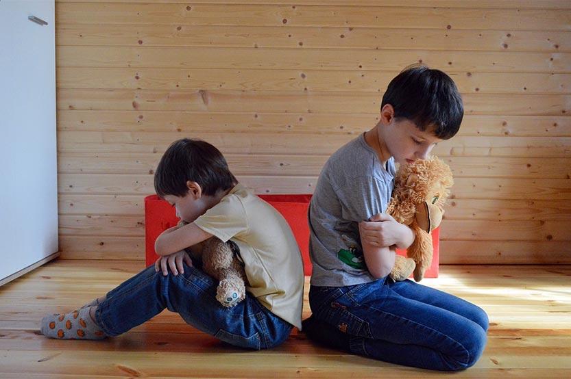 Conflictos entre hermanos pequeños