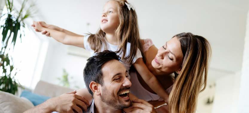 Familia comunicandose