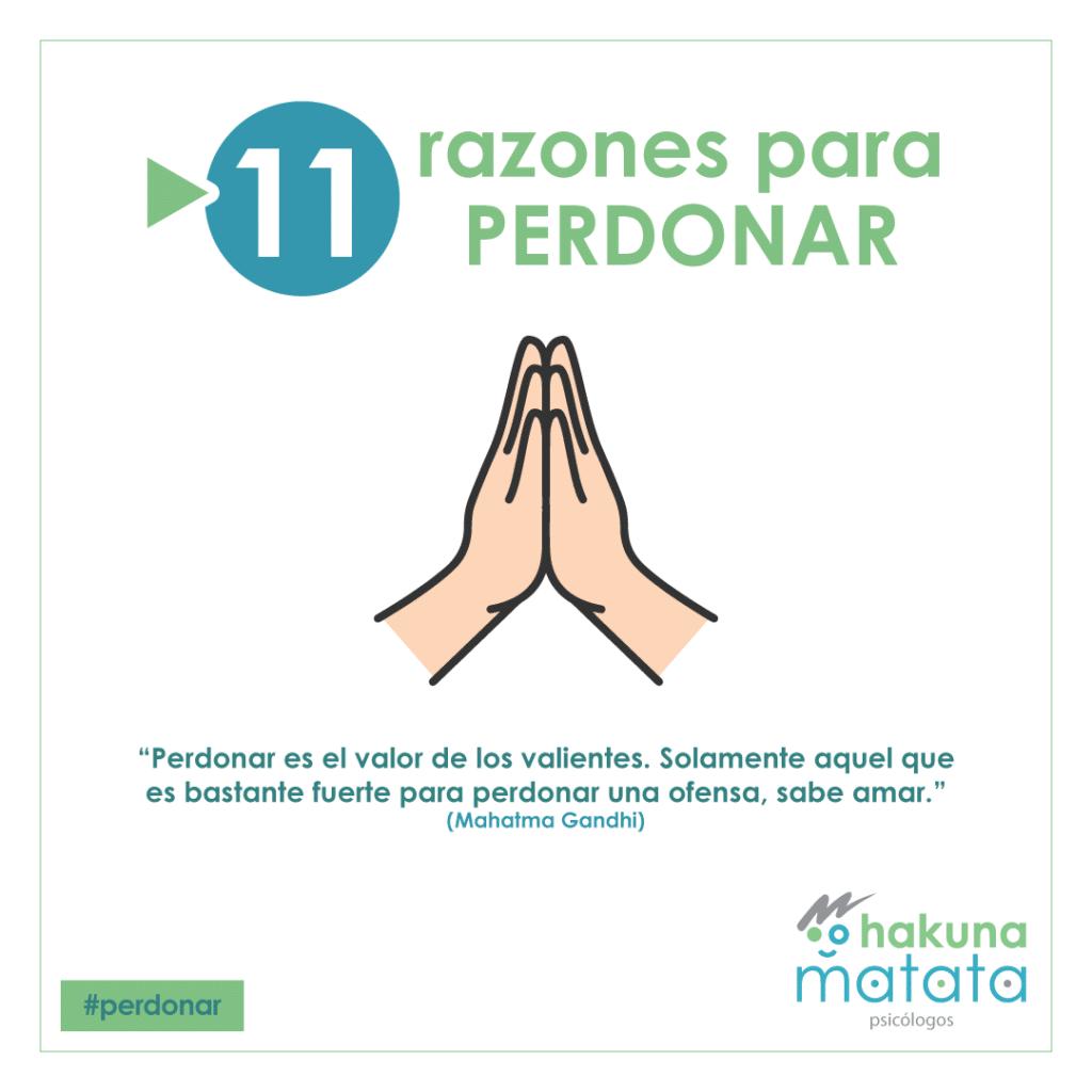 11 razones para el perdón