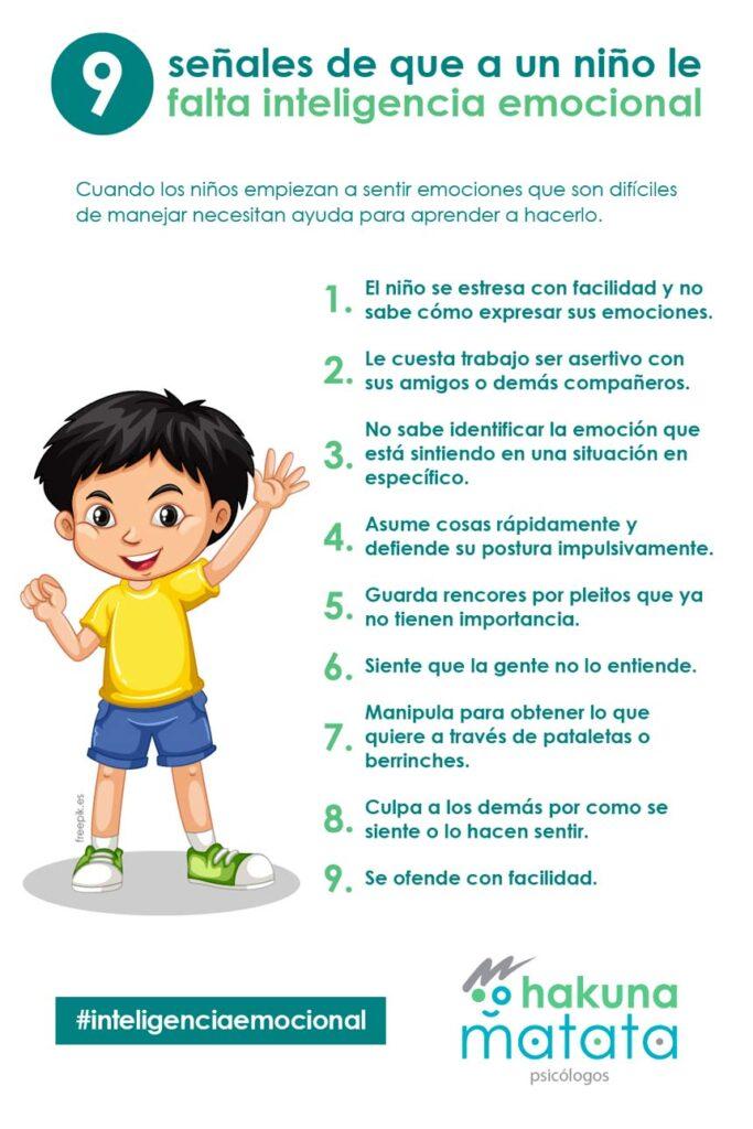 9 señales de que a un niño le falta inteligencia emocional