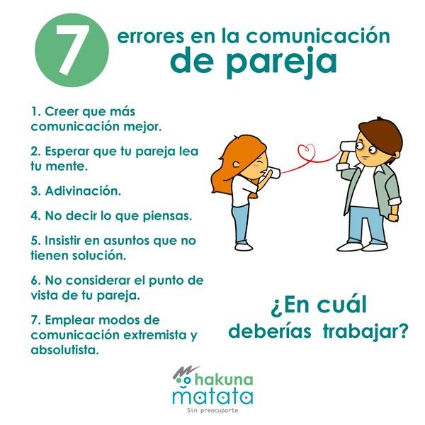 7 errores de la comunicacion en pareja