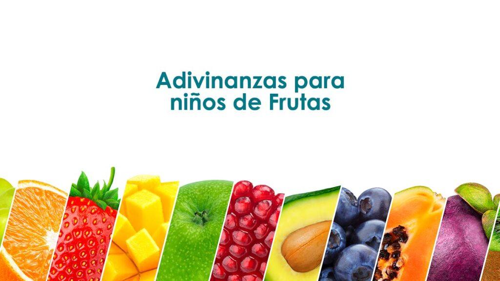 Acertijos para niños de frutas
